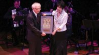 """""""Fiddler"""" lyricist Sheldon Harnick, whose 90th birthday was marked at gala. Michael Priest Photography"""