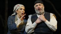 """Andrea Martin and Harvey Fierstein starred in a 2005 revival of """"Fiddler on the Roof."""" Courtesy of Folksbiene"""