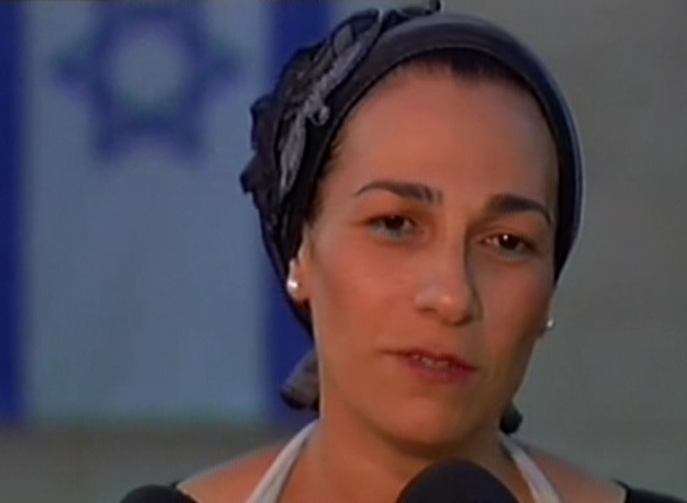 Bat-Galim Shaar, mother of Gil-ad, 16, one of three Israeli teens abducted in the West Bank, speaks to Channel 2 news on Sunday, June 15, 2014 (screen capture)