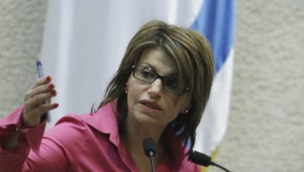 Dalia Itzik addresses the Knesset on July 18, 2011.(photo credit: Miriam Alster/FLASH90)