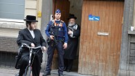 Extra police protection in Belgium after an attack on May 24  at Jewish museum in Brussels (photo credit:  Joods Actueel/FLASH90)