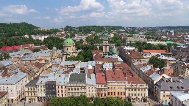 Lviv, Ukraine (photo credit: Wikimedia Commons/Lestat/Jan Mehlich/CC BY-SA 2.5)