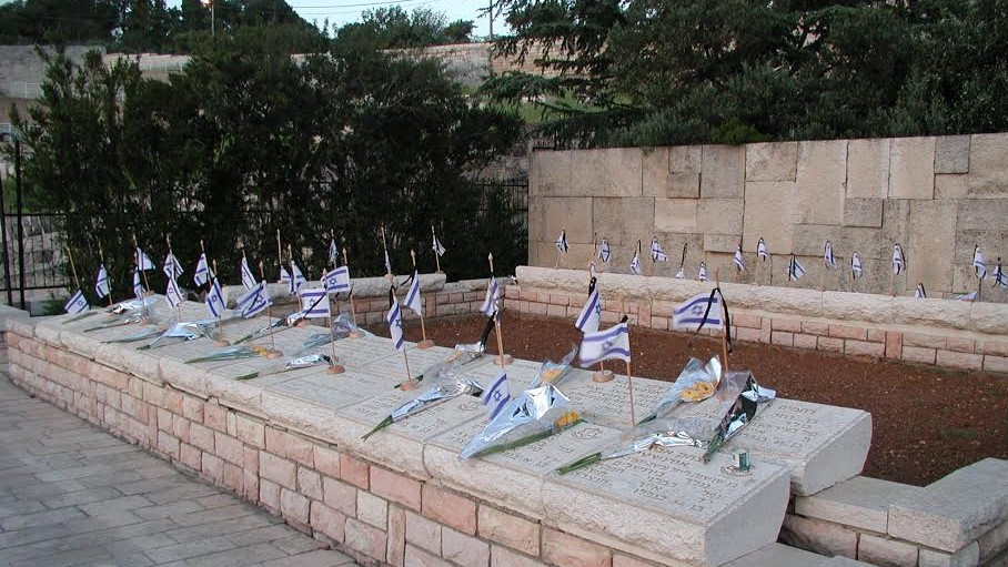 Military cemetery on the Mount of Olives (photo credit: Shmuel Bar-Am)