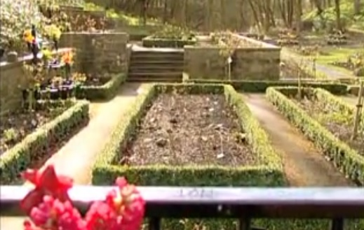 The Rochdale Road Cemetery in Manchester, England (photo credit: Youtube screenshot)
