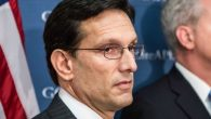 Cantor's religion made it harder to connect to the Christian, far-right voters in his new district. Brendan Hoffman/Getty Images