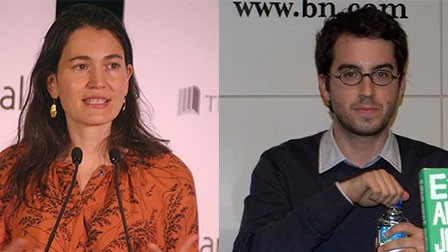Once a literary power couple, Jewish novelists Nicole Krauss and Jonathan Safran Foer have legally separated. (Wikimedia Commons)