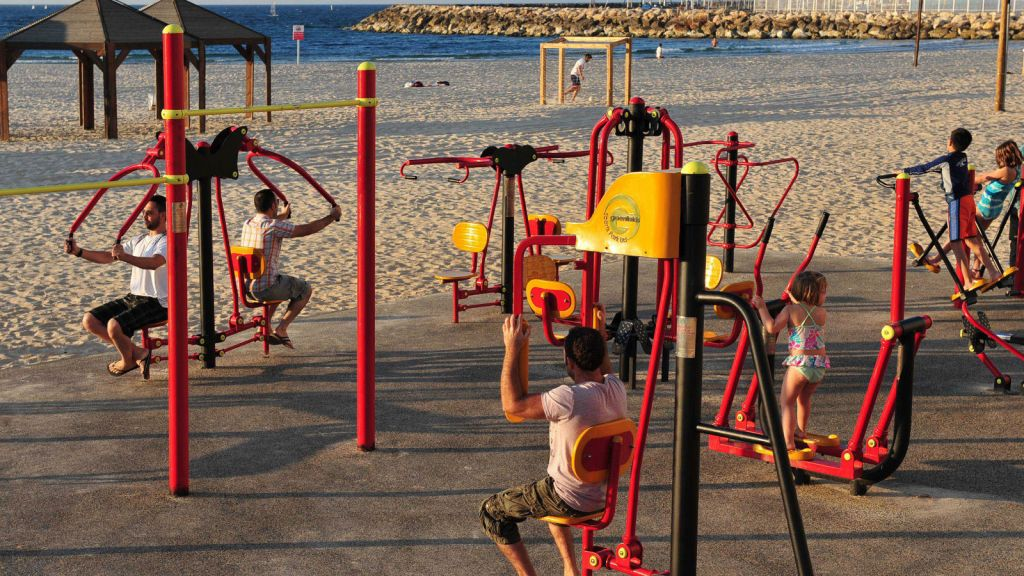 Outdoor Gym.
