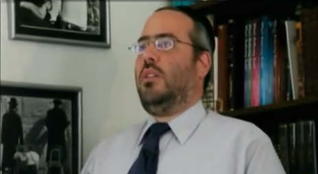 Rabbi Bryan Opert (screen capture: YouTube/South African Broadcasting Corporation)