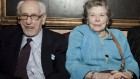 L'actrice Anne Jackson et Eli Wallach au Players club de New York en avril 2010 (Crédit : via Shutterstock)