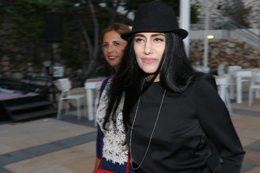 'Gett' filmmaker Ronit Elkabetz arriving at the festival (photo credit: Nir Sha'anani)