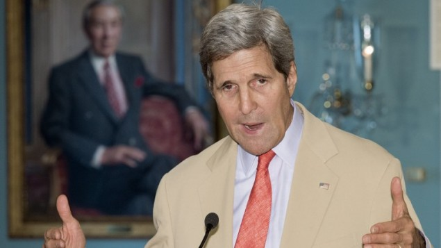 John kerry (Crédit : Paul J. Richards/AFP)