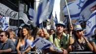 Thousands of pro-Israel supporters rallied Sunday in Times Square. Getty Images