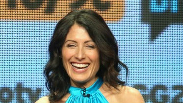 Actress Lisa Edelstein speak onstage during a 'Girlfriends' Guide to Divorce' panel at The Beverly Hilton Hotel on July 14, 2014 in Beverly Hills, California. (photo credit: Frederick M. Brown/Getty Images/AFP)