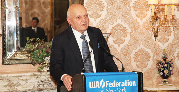 """Alan """"Ace"""" Greenberg, a native of Oklahoma City who made his fortune here, was a generous contributor to UJA-Federation."""