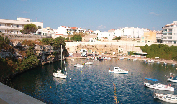 Menorca's scenic Es Castell harbor in eastern Menorca is part of tourists' attraction to the area. Hilary Larson/JW
