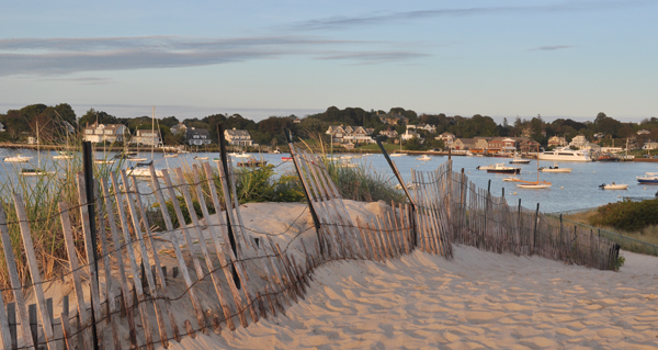 The scenic Watch Hill cove is a popular summer vacation spot along the southern Rhode Island coast. Hilary Larson/JW