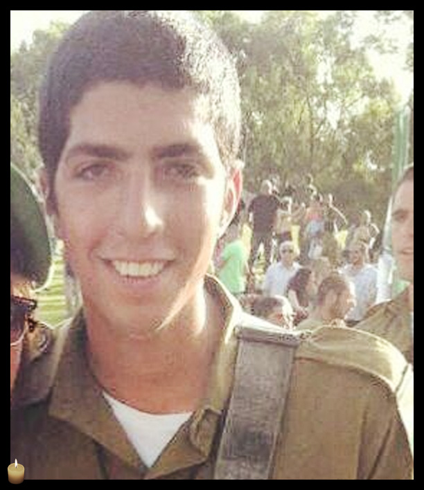 First Sgt. Avraham Grintzvaig, 21, was killed during Operation Protective Edge. (photo credit: IDF)