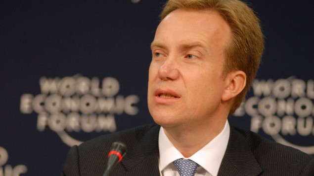 Børge Brende (Crédit : Eric Miller/CC BY-SA 2.0/Wikimedia commons)