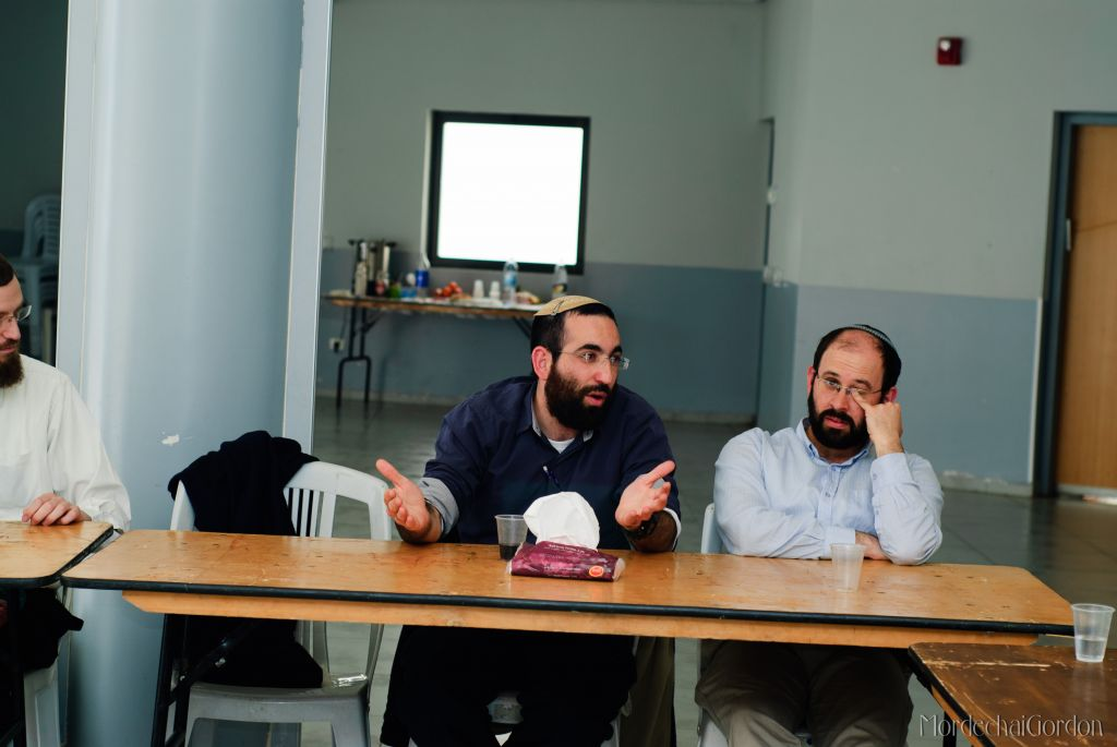Rabbi Shachar Butzchak is a student in Barkai, the school for practical rabbinics, which is trying to help community rabbis around Israel (Courtesy Barkai)