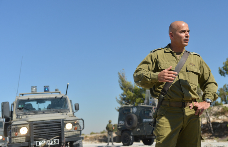 Col. Ghassan Alian during a patrol in July 2013 in Jenin. Col. Alian, who heads the Golani Brigade, returned to the unit after being injured in battle two days earlier (photo credit: Yossi Zeliger/FLASH90)