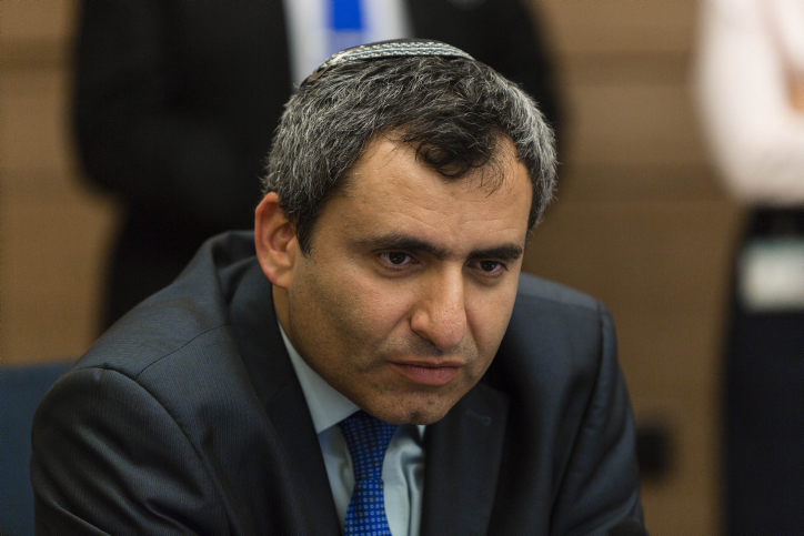 MK Zee'v Elkin (Likud), chairman of the Foreign Affairs and Defense Committee, in  the Knesset, May 12, 2014. (photo credit: Flash 90)