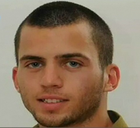 Oron Shaul, believed to be killed and his body abducted by Hamas in Gaza