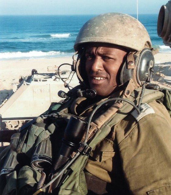 Sgt.-Maj. Bayhesain Kshaun, 39 years old, killed in action during Operation Protective Edge. (Photo credit: IDF)