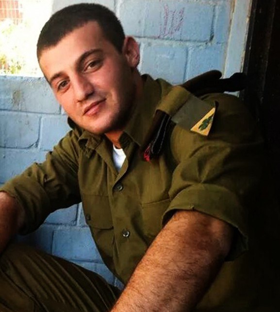 Staff Sgt. Jordan Bensemhoun, 22 years old, killed in action during Operation Protective Edge. (Photo credit: IDF)