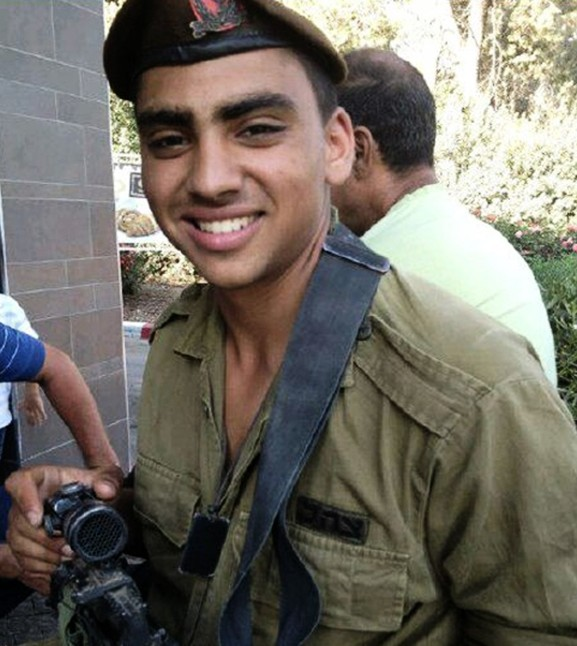 Staff Sgt. Tal Ifrach, 21 years old, killed in action during Operation Protective Edge. (Photo credit: IDF)