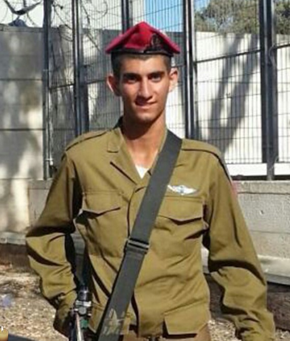 Staff Sgt. Bnaya Rubel, 20 years old, killed in action during Operation Edge. (Photo credit: IDF)