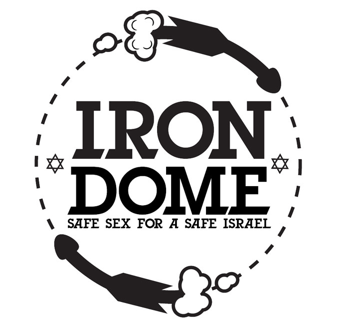 An Indiegogo campaign for Iron Dome condoms; they haven't raised much money yet (Courtesy Iron Dome Condoms)