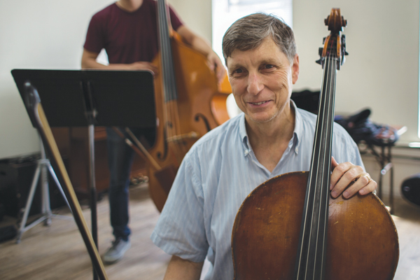 A devotee of classical music, Ari Goldman finds his voice by returning to playing the cello. Kali Kotoski