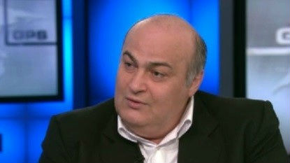 Jewish Iranian MP Siamak Moreh Sedgh. (photo credit: CNN screen capture)