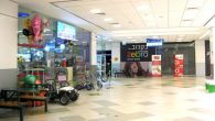 The Hatzot mall in the city of Ashkelon was nearly empty Tuesday due to a barrage of rocket fire from Gaza. Michele Chabin/JW