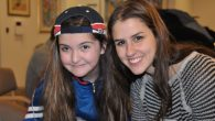 JewishCare little sister and big sister enjoy being together. Courtesy of JewishCare