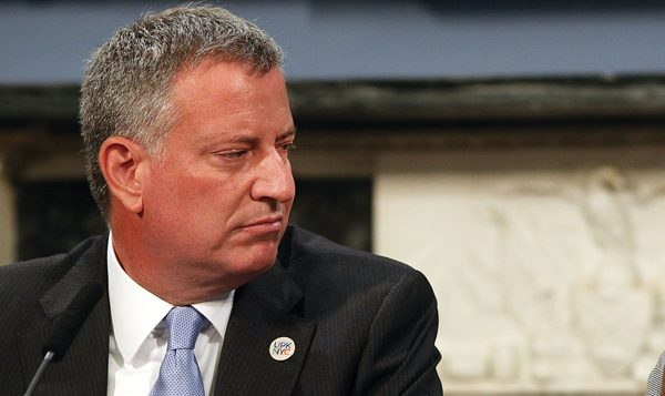 Mayor de Blasio: Vowed during campaign to regulate metzitzah b'peh ritual. Getty Images