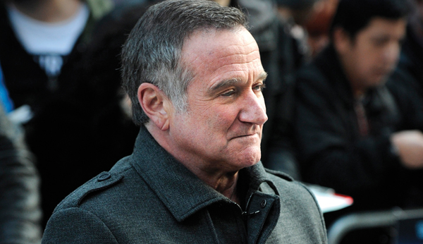Robin Williams: His Yiddishisms and Jewish references endeared him to Jewish audiences. Getty Images