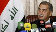 Mithal al-Alusi, chief of the Iraqi Nation party, gives a press conference in Arbil in 2011. Safin Hamed/AFP/Getty Im