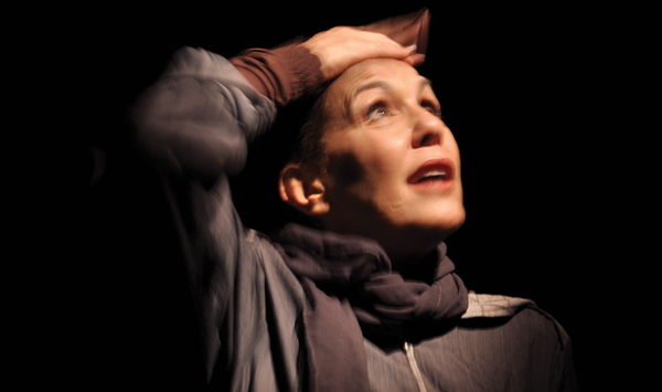 """Anat Barzilay, the playwright and star of """"Samira,"""" about a female suicide bomber.  Courtesy of Fringe Festival"""