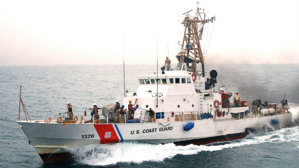 US Coast Guard fires at Iranian boat in Gulf | The Times of Israel
