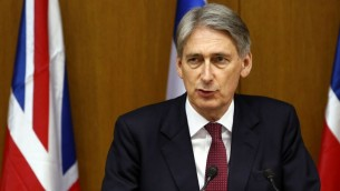 Philip Hammond (Crédit : Flash 90)
