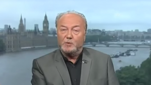 George Galloway (Crédit : capture d'écran YouTube)