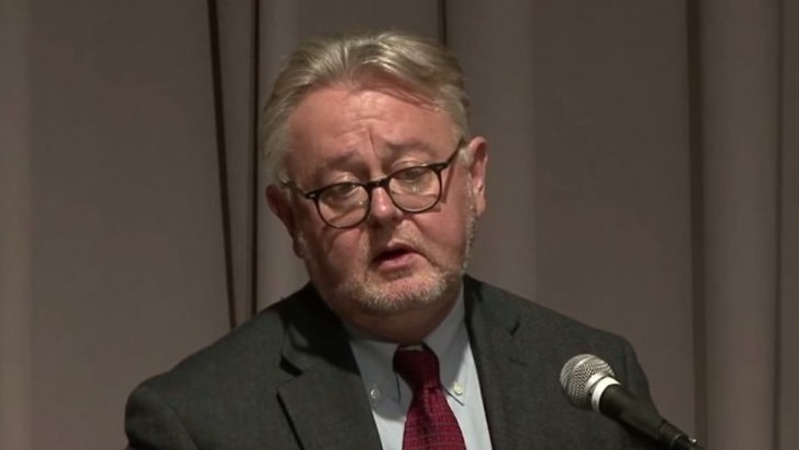 William Schabas (screen capture: YouTube)