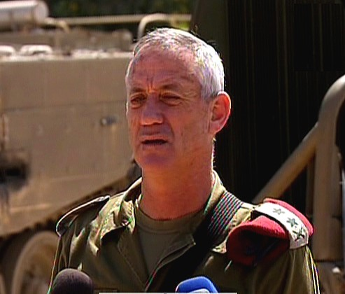 IDF Chief of Staff Benny Gantz (photo credit: Screenshot via Channel 2)