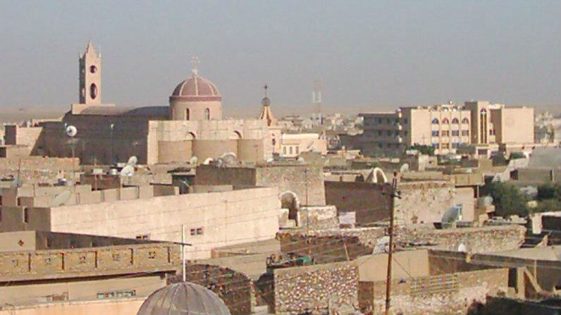The northern Iraqi town of Qaraqosh. (photo credit: Wikicommons media/Chaldean)