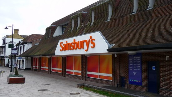 A Sainsbury's branch (Photo credit: CC-BY-SA Chris Talbot/Wikimedia Commons)
