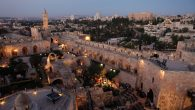 The walls of Jerusalem's Old City will reverberate next month with the sounds of Night Stroll. Snir Kazir