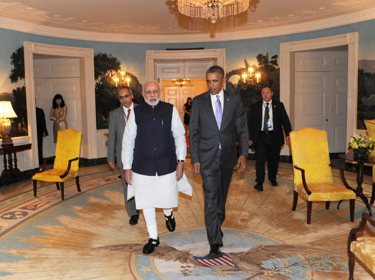 White house polishing india ties with two day modi visit - Prime minister of india office address ...