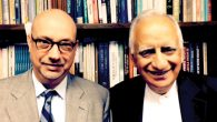 Rabbi Michael White, left, and Faroque Ahmad Khan have maintained their personal friendship and professional relationship.