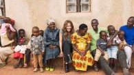 Caroline Flack visits World Jewish Relief to see how they are delivering agricultural training to genocide survivors